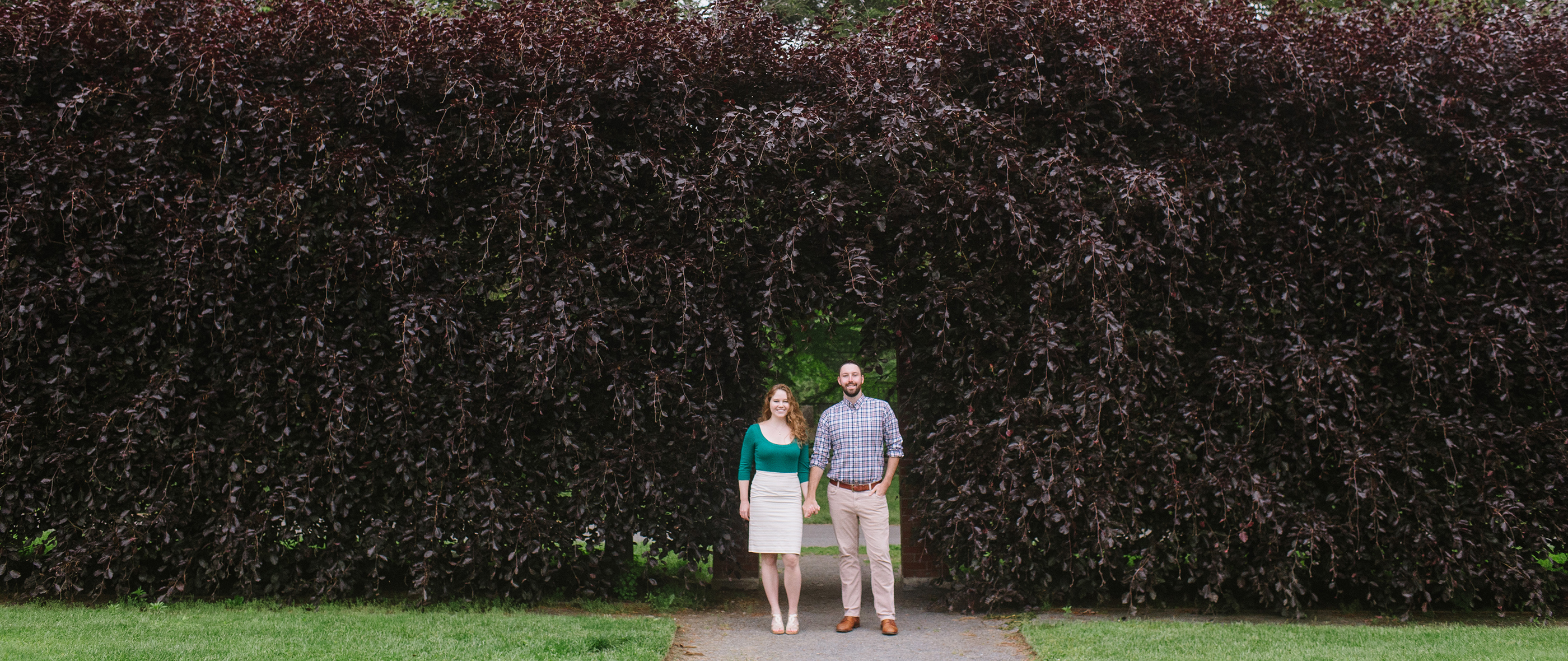 HANNAH + MAX | ELM BANK ENGAGEMENT