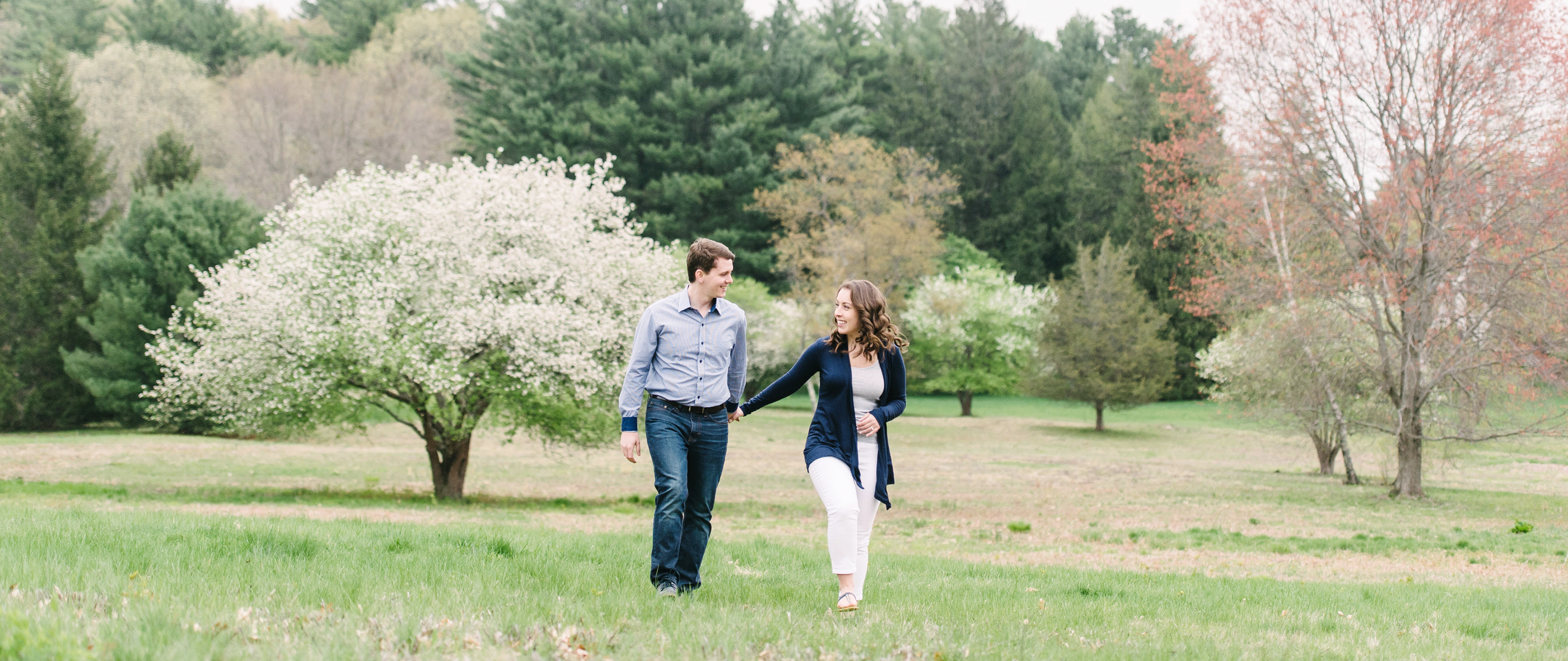 LAUREN + TYLER | LINCOLN, MA ENGAGEMENT