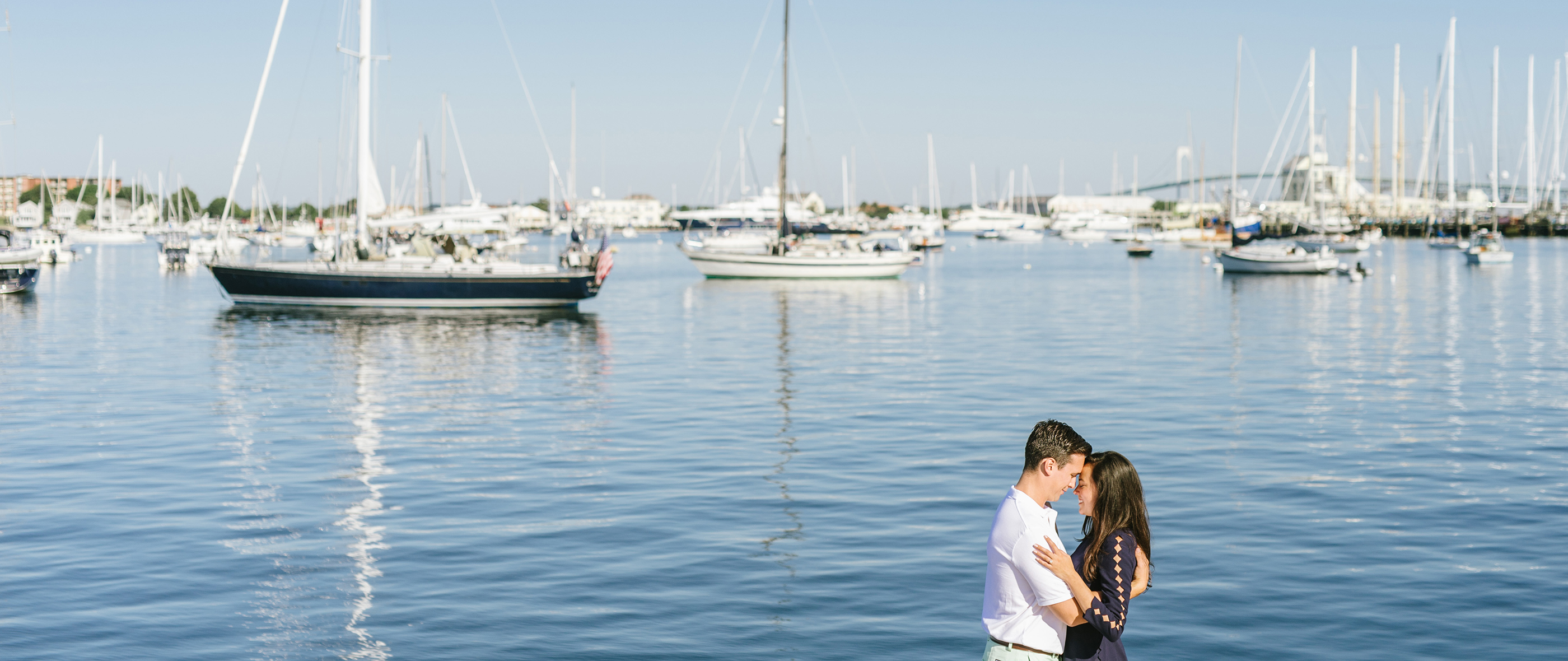 MAUREEN + ALEX | NEWPORT ENGAGEMENT