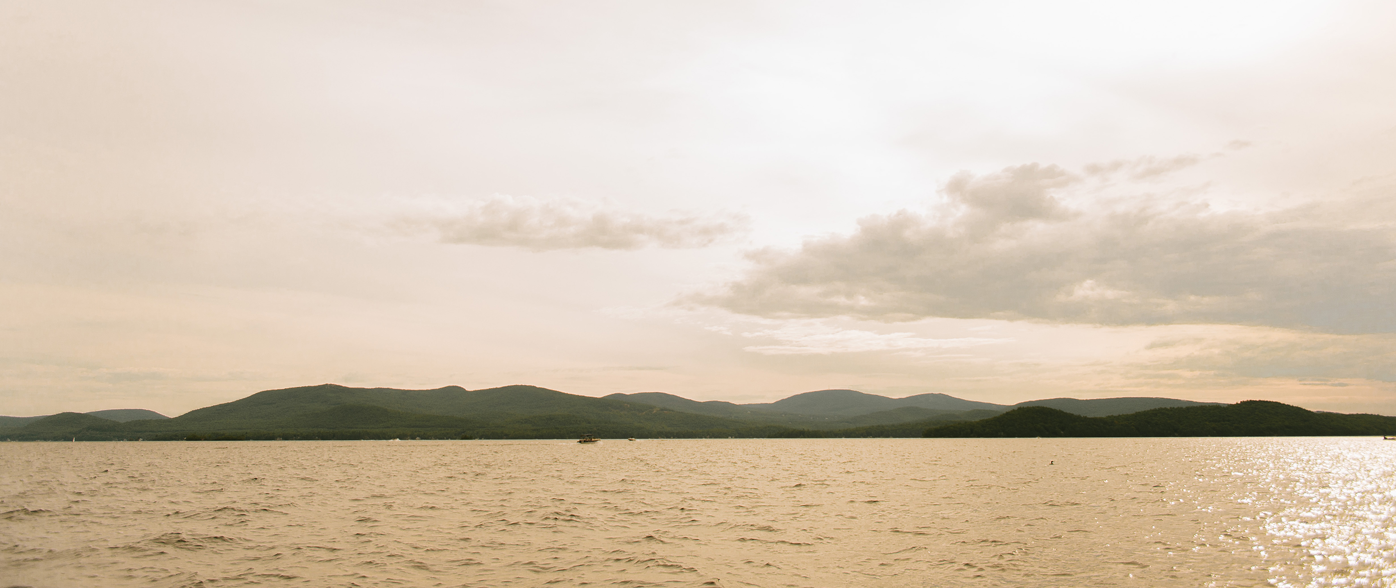 LIZ + TOM | LAKE WINNIPESAUKEE ENGAGEMENT