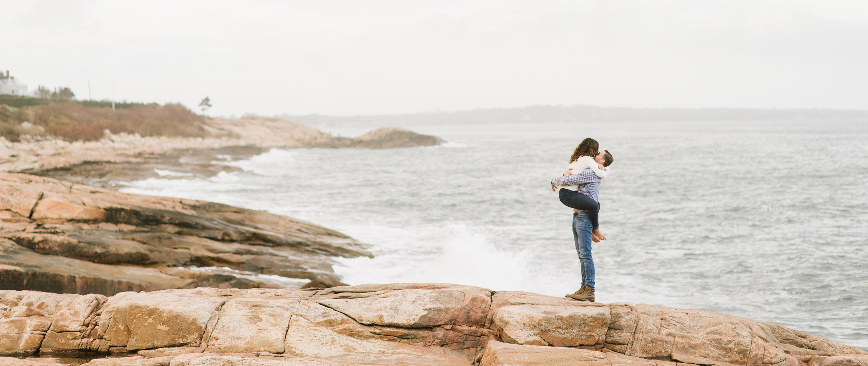 STEVEN + KRYSTINA | NARRAGANSETT ENGAGEMENT SESSION